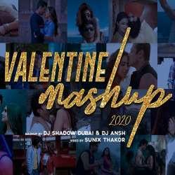Valentines Mashup 2020 - DJ Shadow Dubai x DJ Ansh Poster