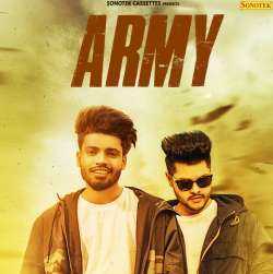 Feeling Proud Indian Army Poster